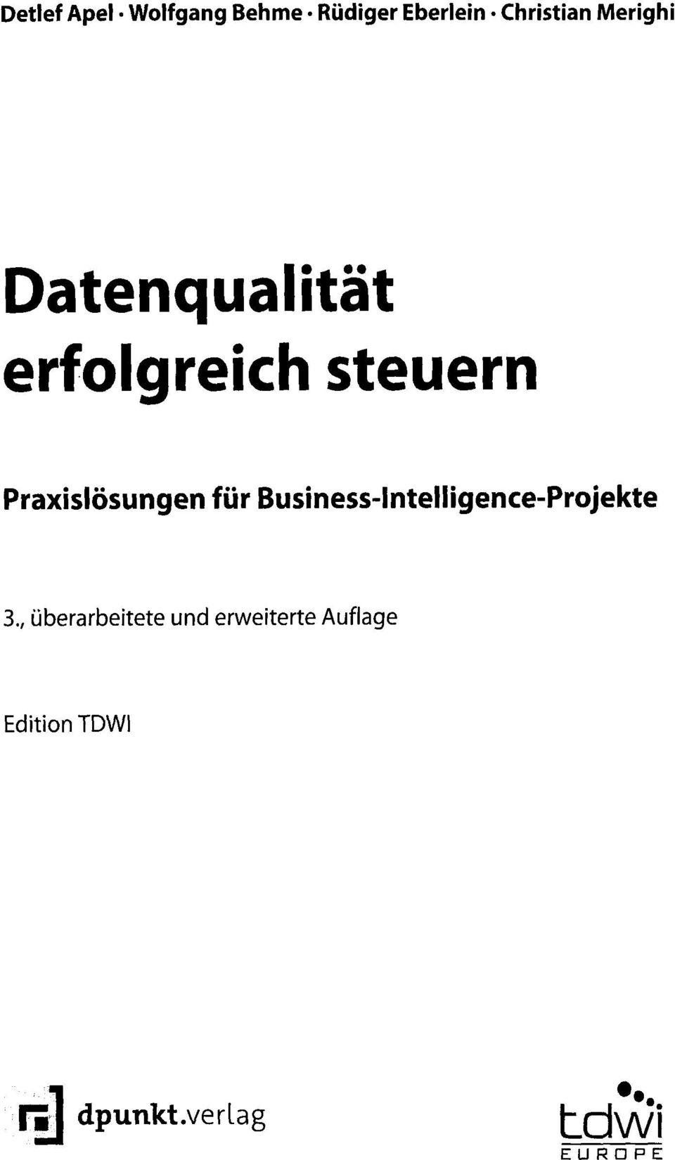 für Business-Intelligence-Projekte 3.