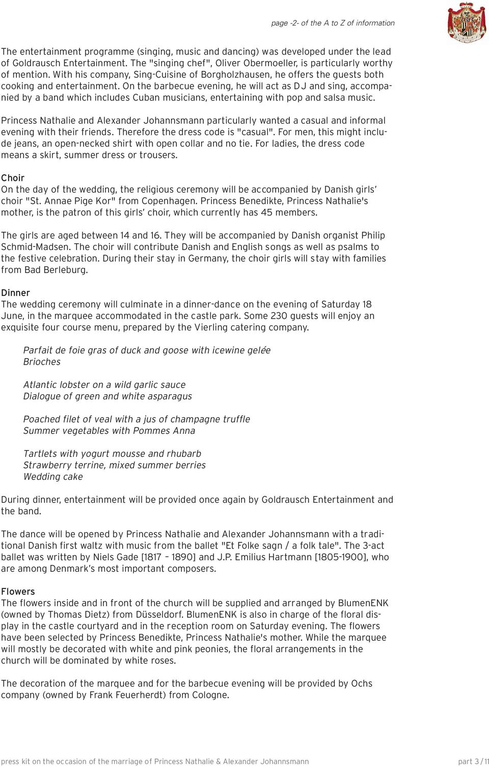 table of contents part content General map of media areas General ...
