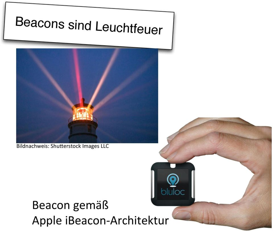 Images LLC Beacon gemäß