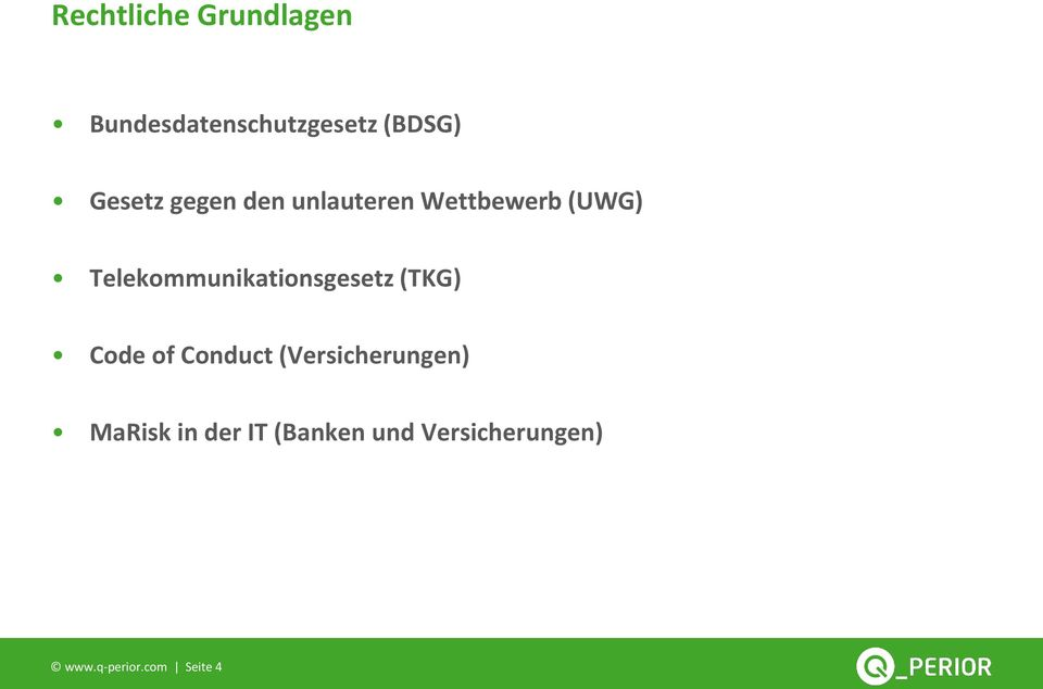 Telekommunikationsgesetz (TKG) Code of Conduct