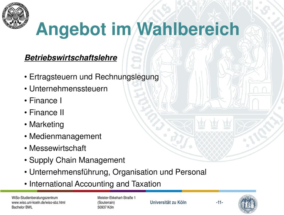 Medienmanagement Messewirtschaft Supply Chain Management