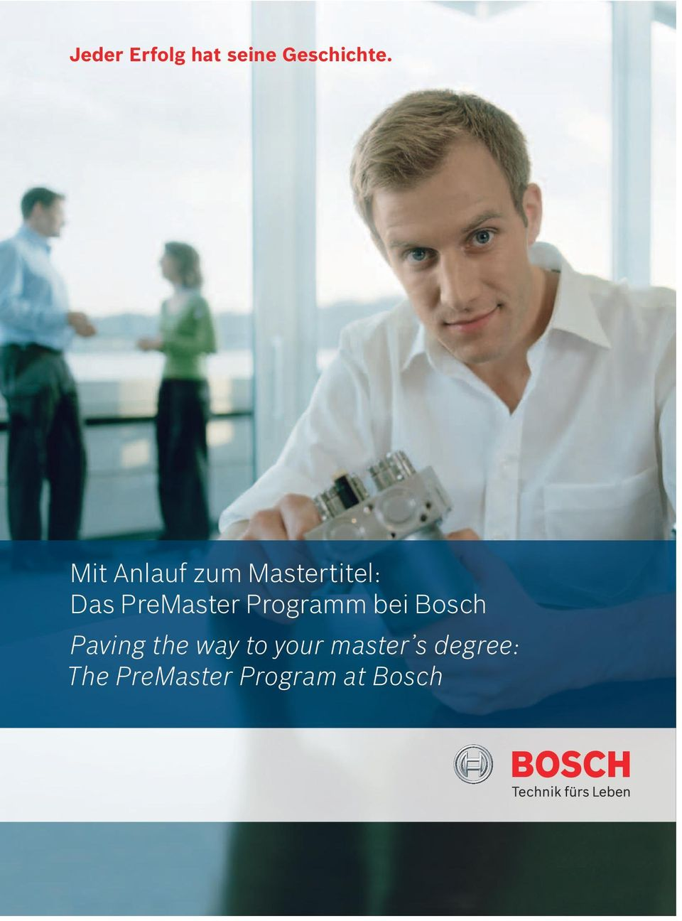 Programm bei Bosch Paving the way to your