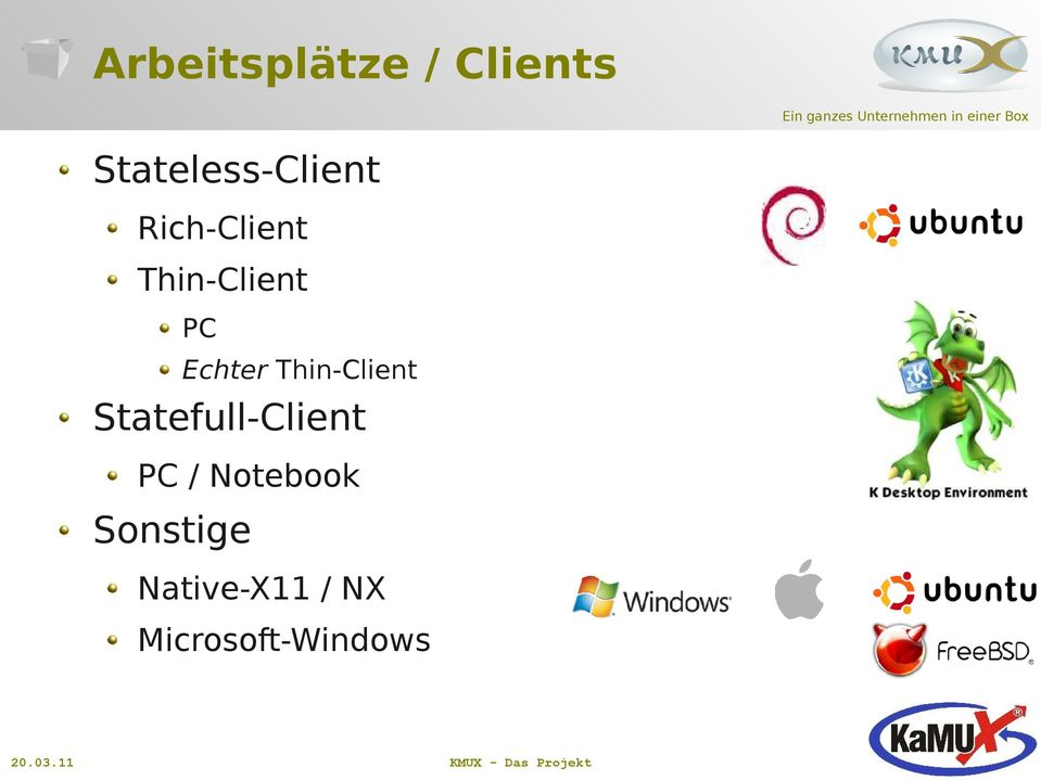Thin-Client Statefull-Client PC /