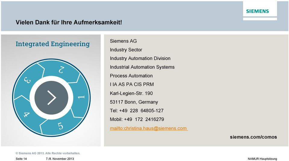 Industrial Automation Systems Process Automation I IA AS PA CIS PRM