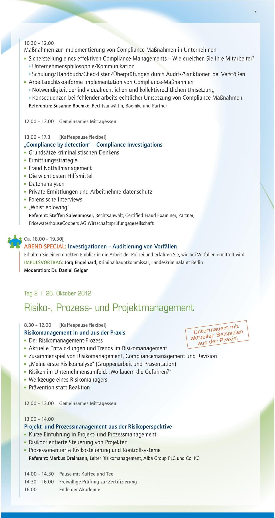Tolle Risikomanagement Beispielvorlage Bilder - Entry Level Resume ...
