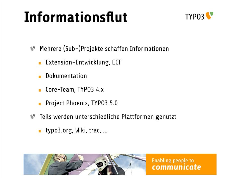 Core-Team, TYPO3 4.x Project Phoenix, TYPO3 5.