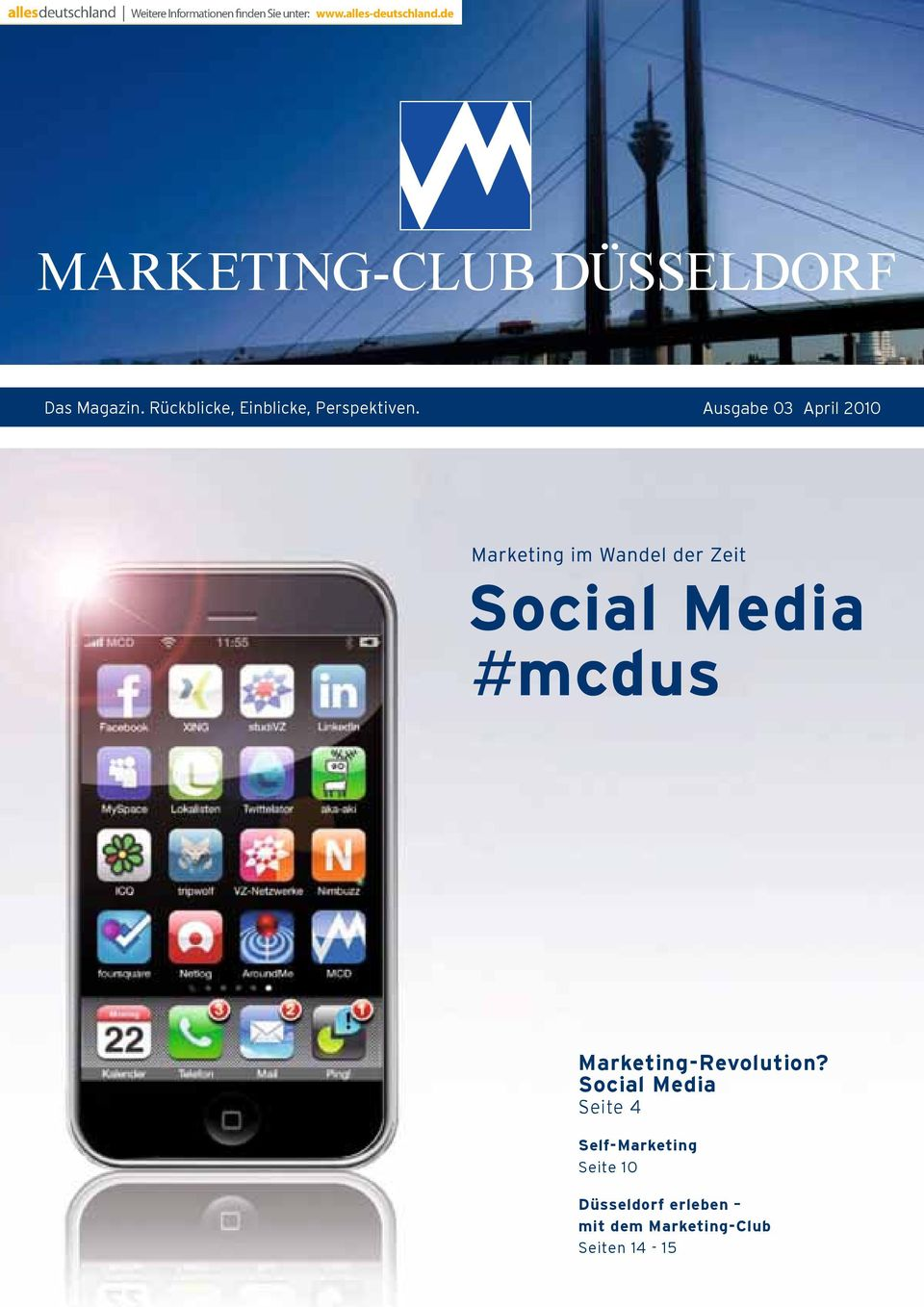 Ausgabe 03 April 2010 Marketing-Revolution?