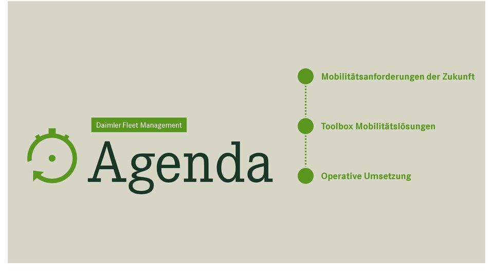 Management Agenda Toolbox