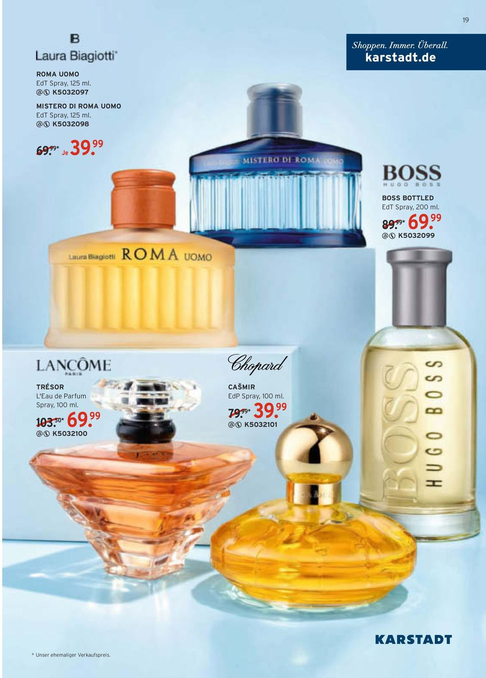 99 BOSS BOTTLED EdT Spray, 200 ml. 89. 99* 69.