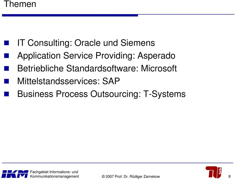 Mittelstandsservices: SAP Business Process Outsourcing: