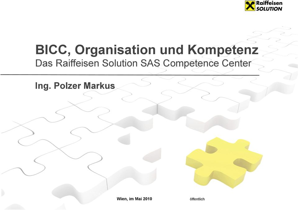 Solution SAS Competence