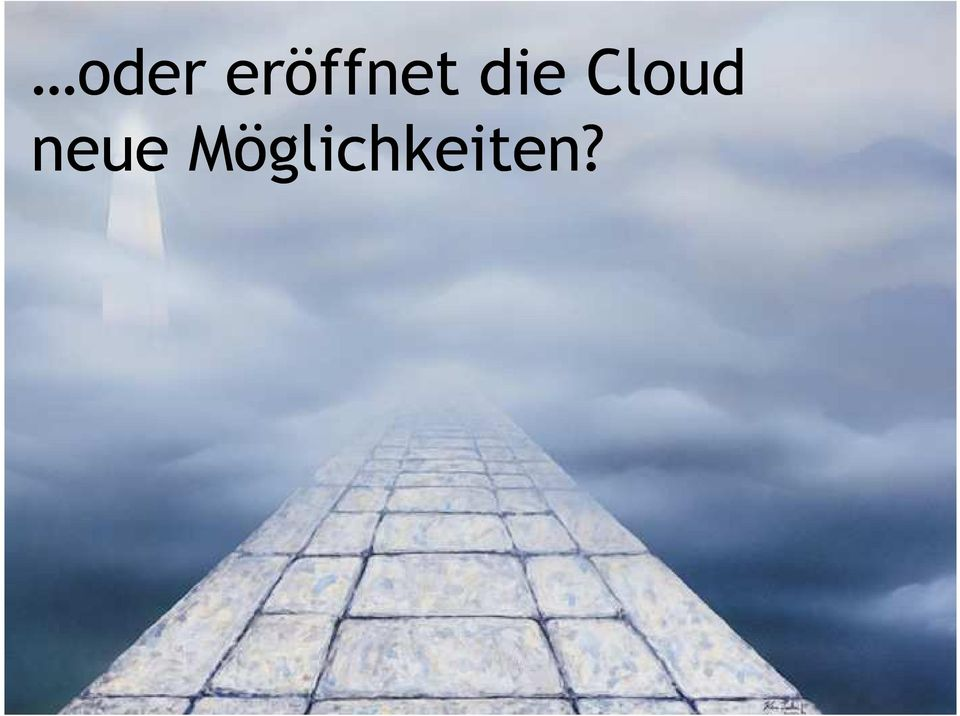 die Cloud