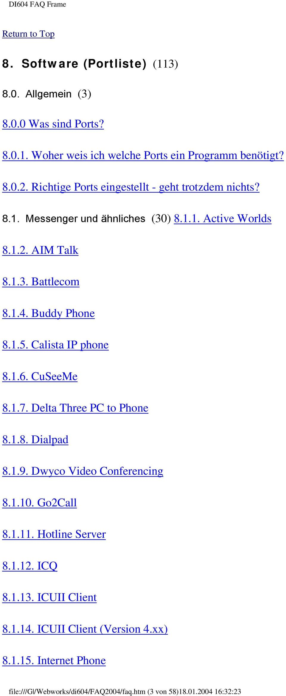 Buddy Phone 8.1.5. Calista IP phone 8.1.6. CuSeeMe 8.1.7. Delta Three PC to Phone 8.1.8. Dialpad 8.1.9. Dwyco Video Conferencing 8.1.10. Go2Call 8.1.11.