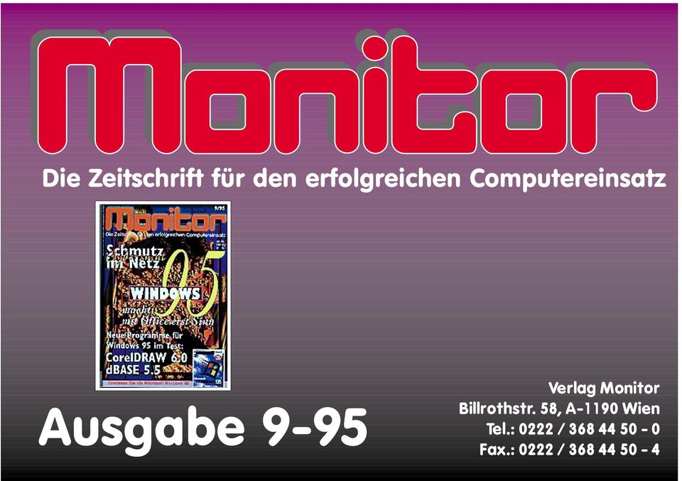 Monitor Billrothstr.