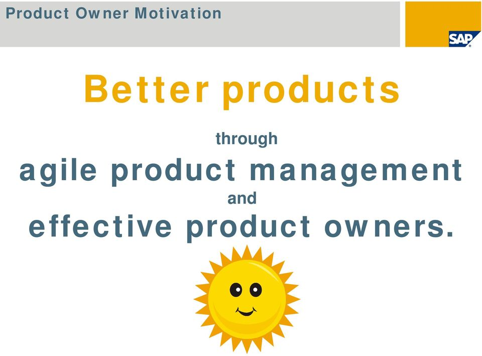 product management and