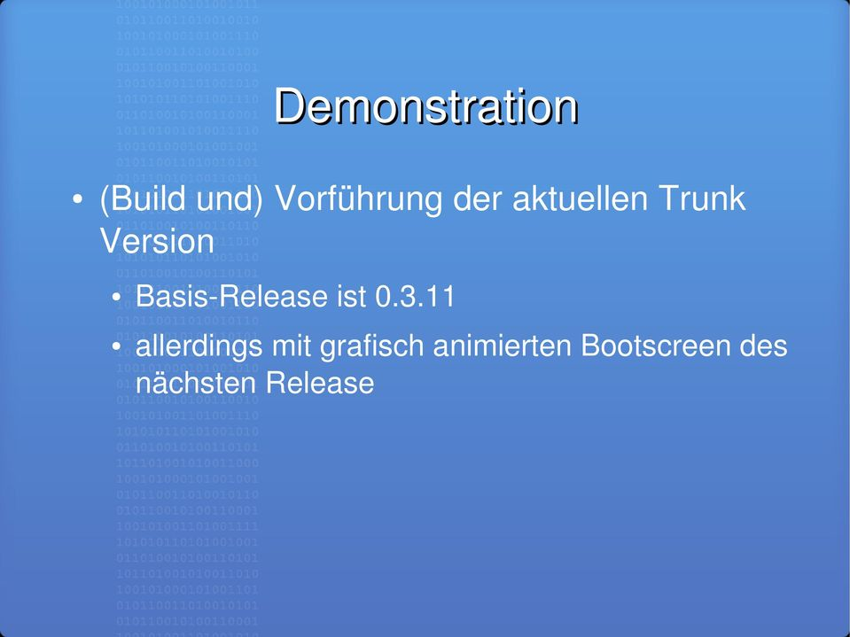 Release ist 0.3.
