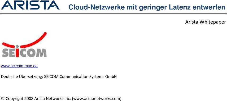 Communication Systems GmbH