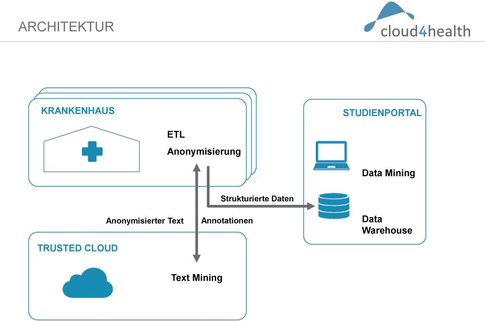 CLOUD Anonymisierter Text Strukturierte