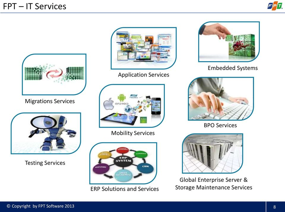 Services ERP Solutions and Services Global Enterprise