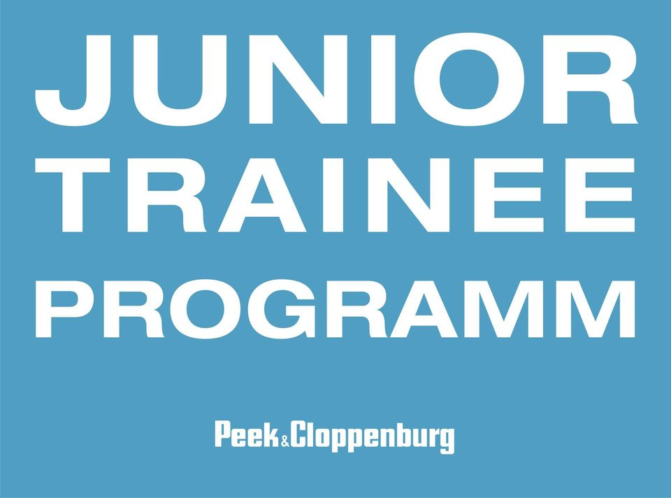 61ac2d06a8c4a6 JUNIOR TRAINEE PROGRAMM - PDF