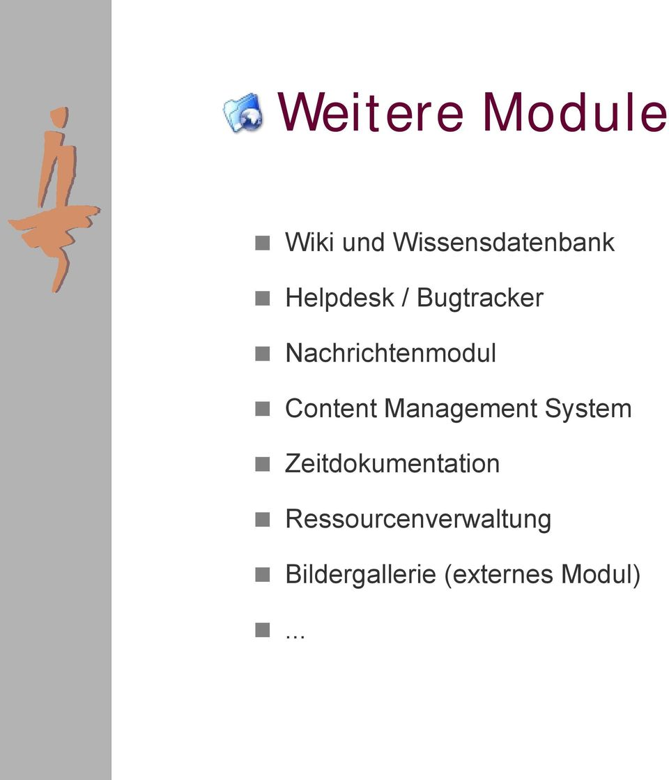 Content Management System Zeitdokumentation