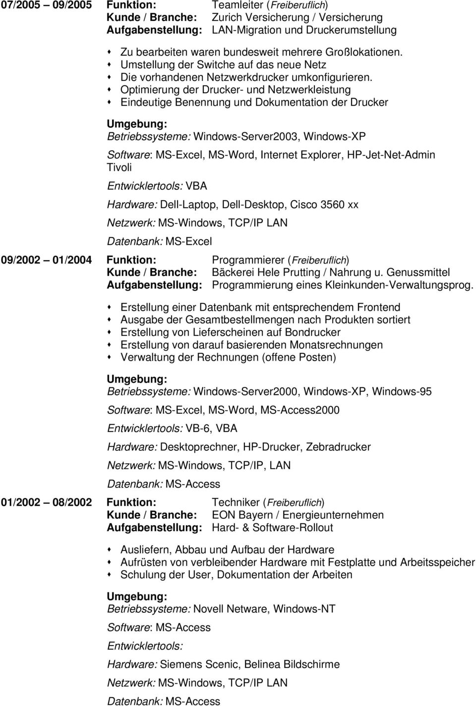 Charmant Cisco Lebenslauf Galerie - Entry Level Resume Vorlagen ...