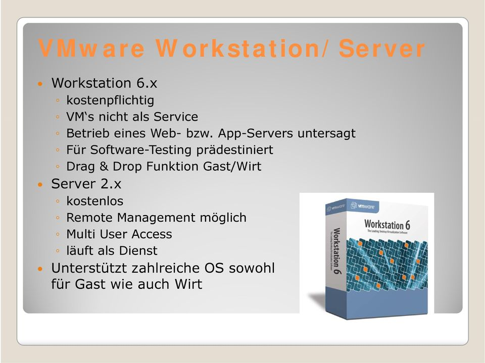 App-Servers untersagt Für Software-Testing prädestiniert Drag & Drop Funktion