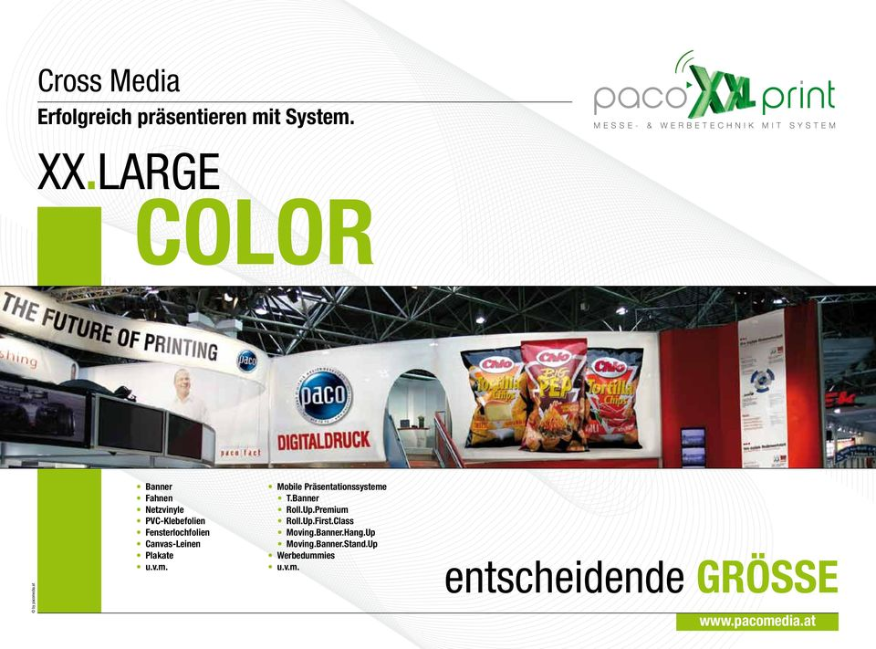 Canvas-Leinen Plakate u.v.m. Mobile Präsentationssysteme T.Banner Roll.Up.