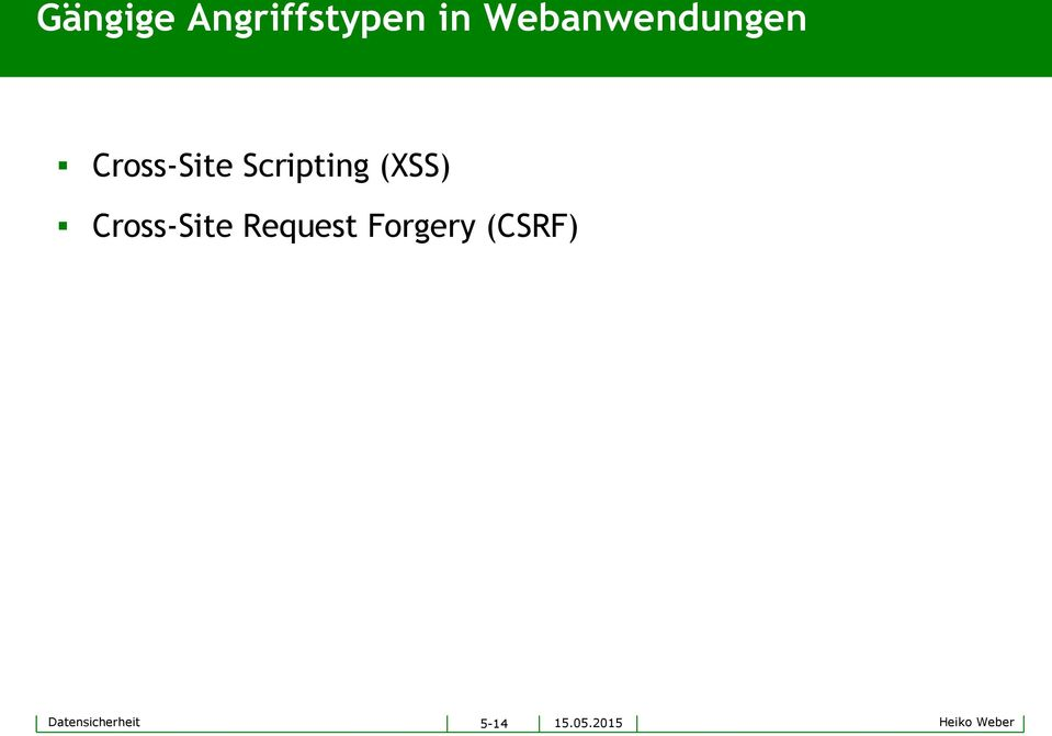 Scripting (XSS) Cross-Site