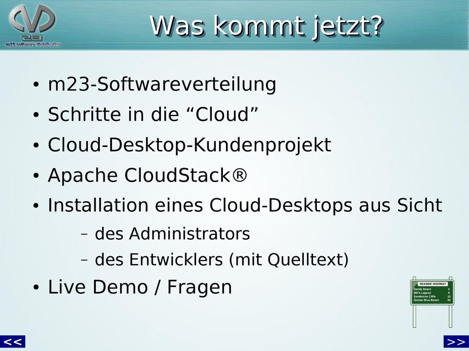 m23-softwareverteilung Schritte in die Cloud