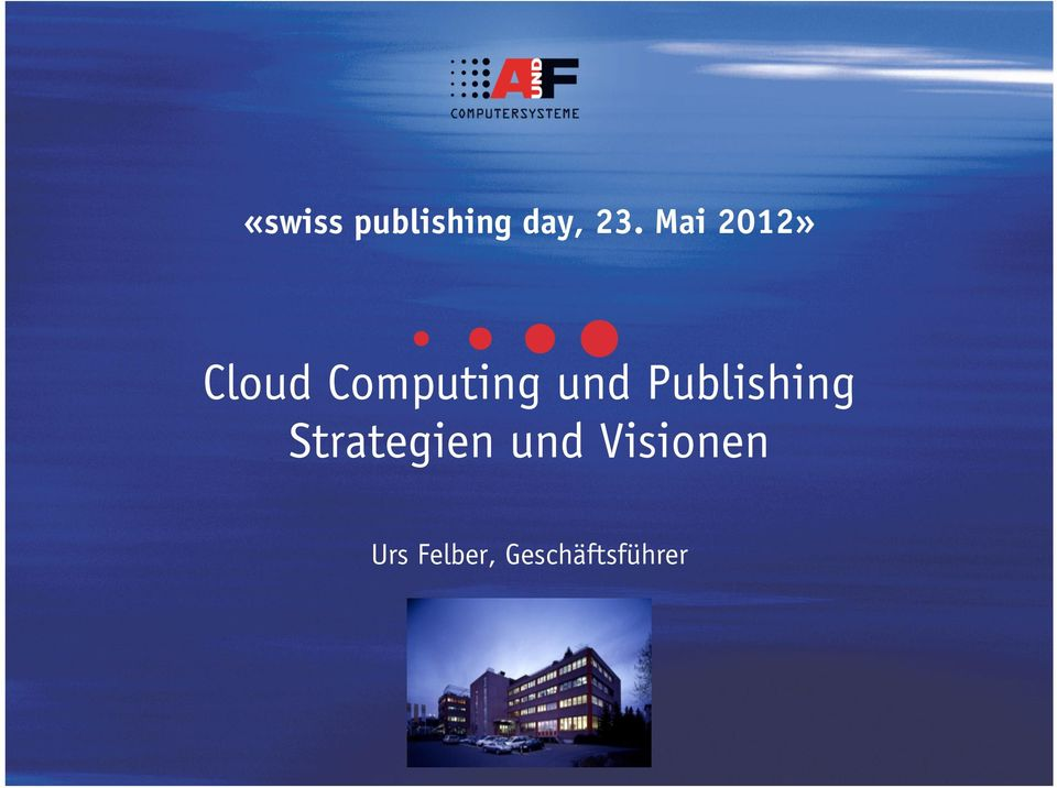 Publishing Strategien und
