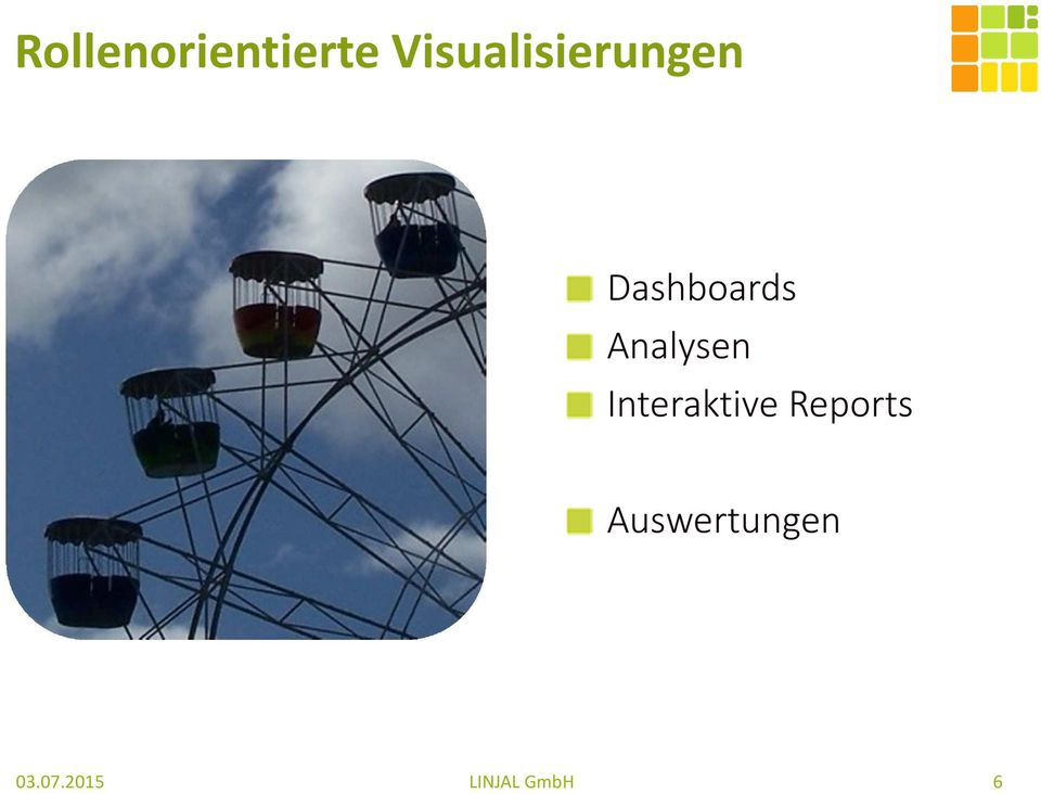 Dashboards Analysen