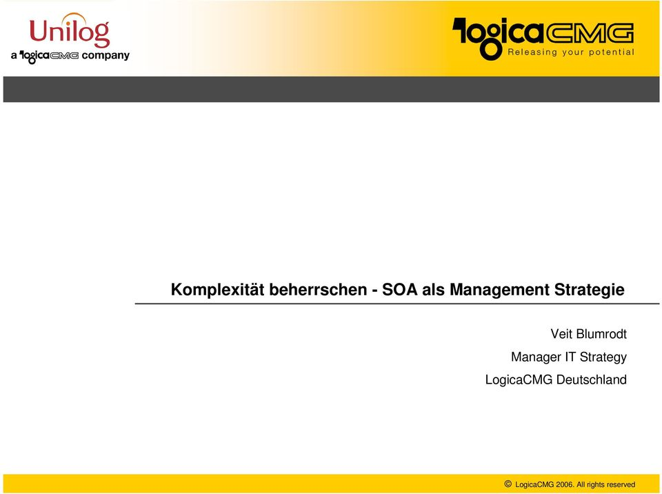 Manager IT Strategy LogicaCMG
