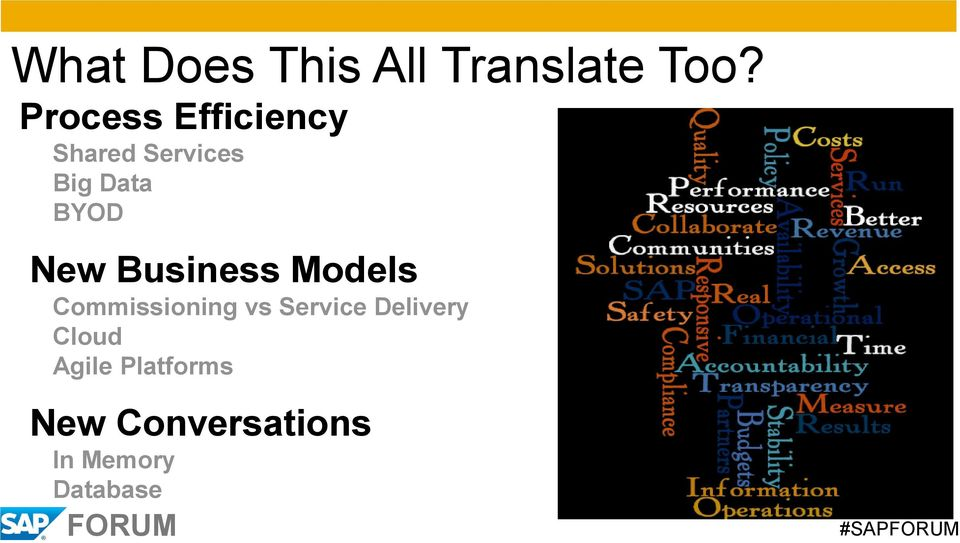 New Business Models Commissioning vs Service
