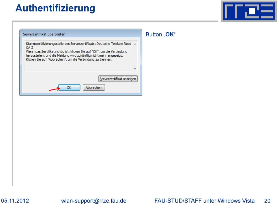 2012 wlan-support@rrze.