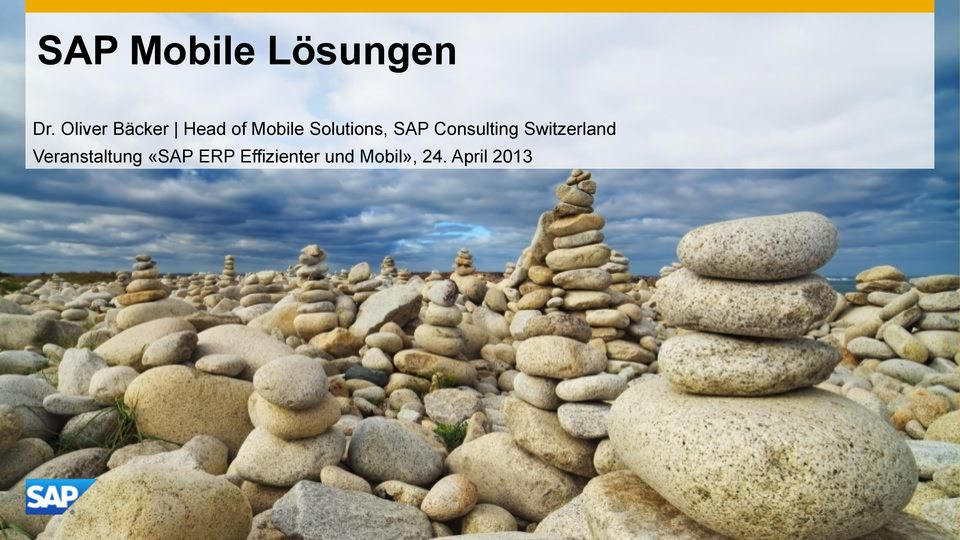 Solutions, SAP Consulting Switzerland
