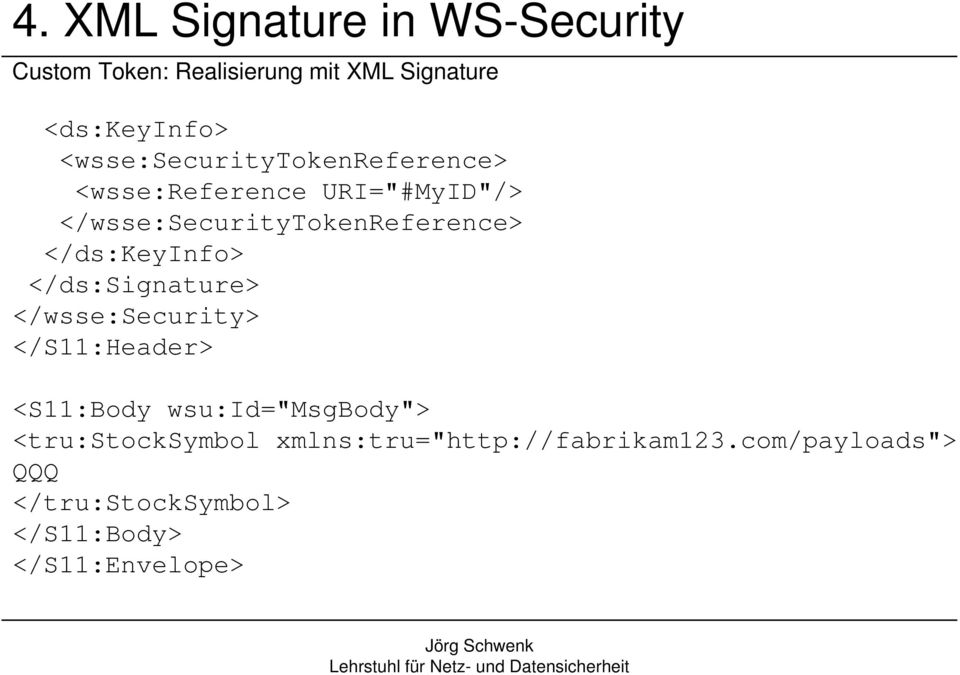 "</ds:keyinfo> </ds:signature> </wsse:security> </S11:Header> <S11:Body wsu:id=""msgbody"">"