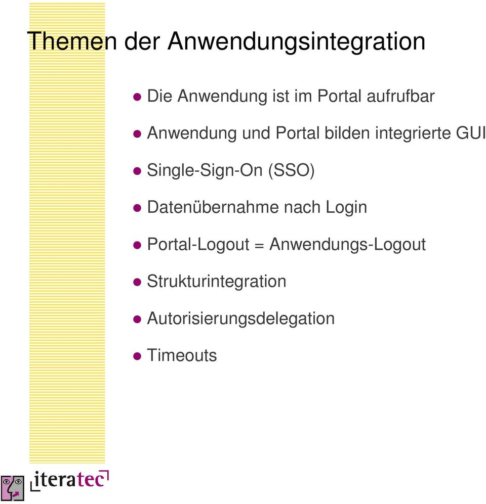 Single-Sign-On (SSO) Datenübernahme nach Login Portal-Logout =