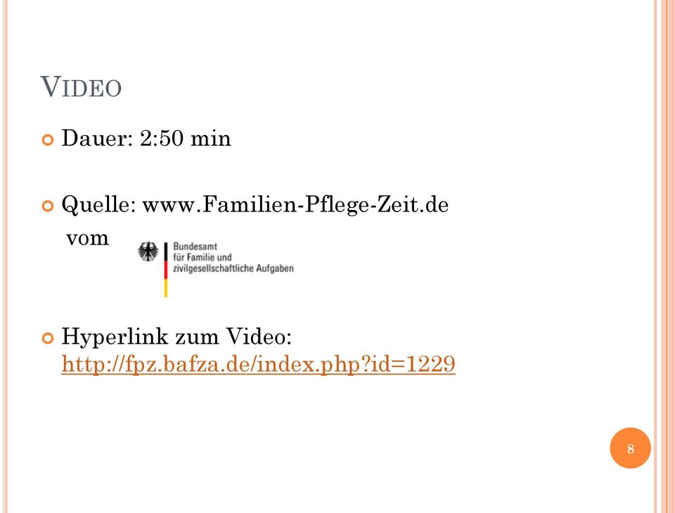 de vom Hyperlink zum Video: