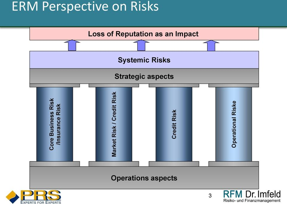 Perspective on Risks Loss of Reputation as an