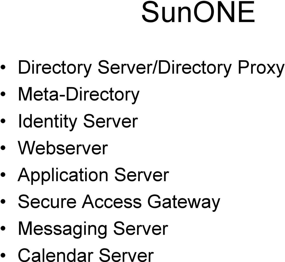 Webserver Application Server Secure