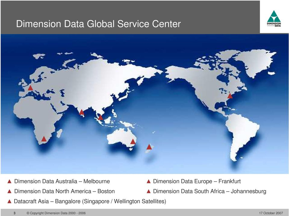 Dimension Data North America Boston Dimension Data South