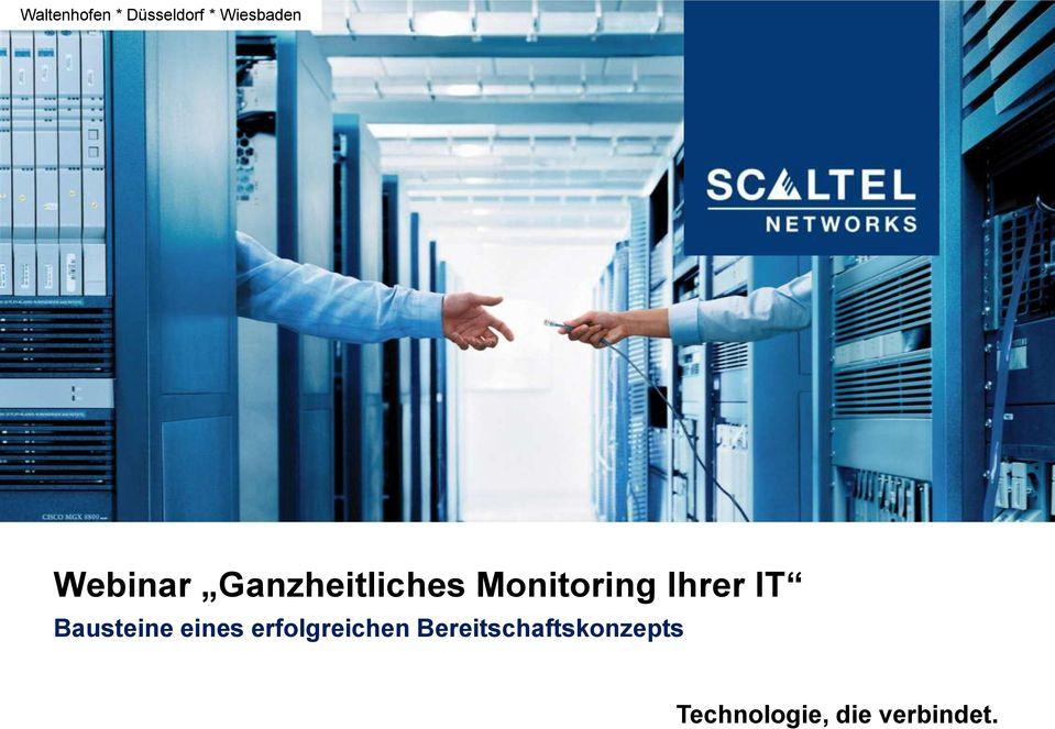 Monitoring Ihrer IT Bausteine