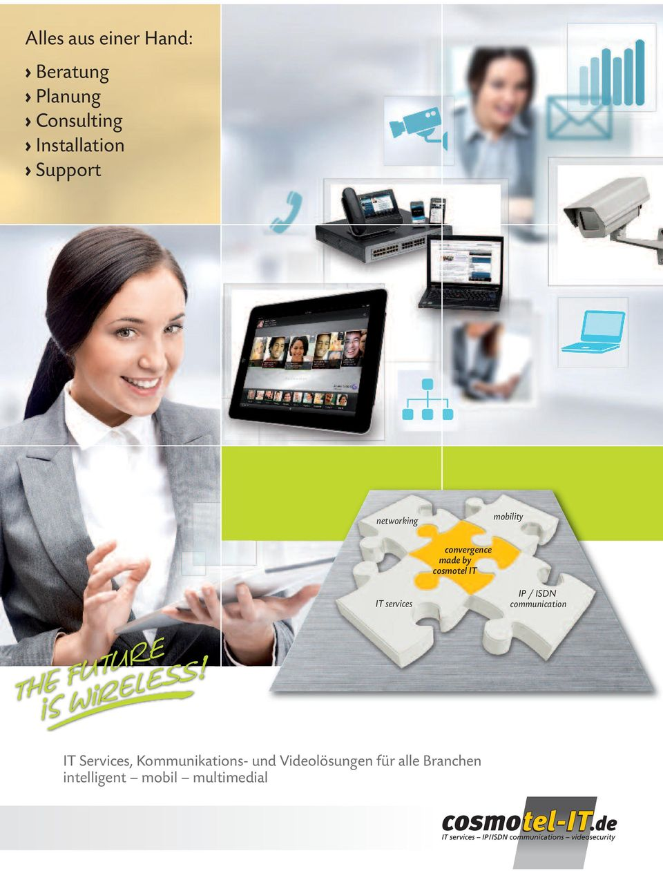 services IP / ISDN communication IT Services, Kommunikations-