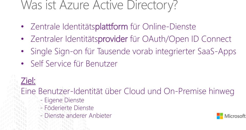 OAuth/Open ID Connect Single Sign-on für Tausende vorab integrierter SaaS-Apps Self