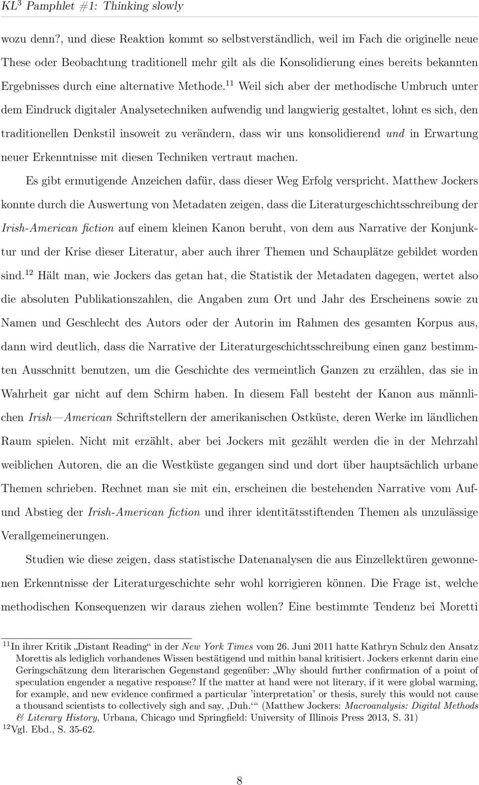 alternative Methode.