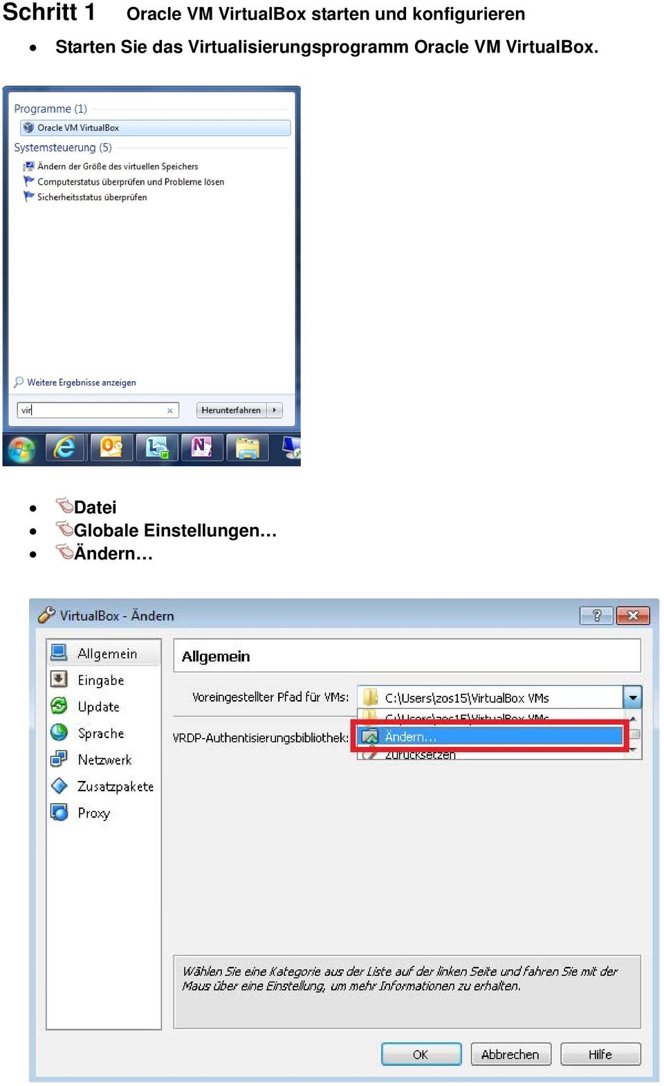 Virtualisierungsprogramm Oracle VM