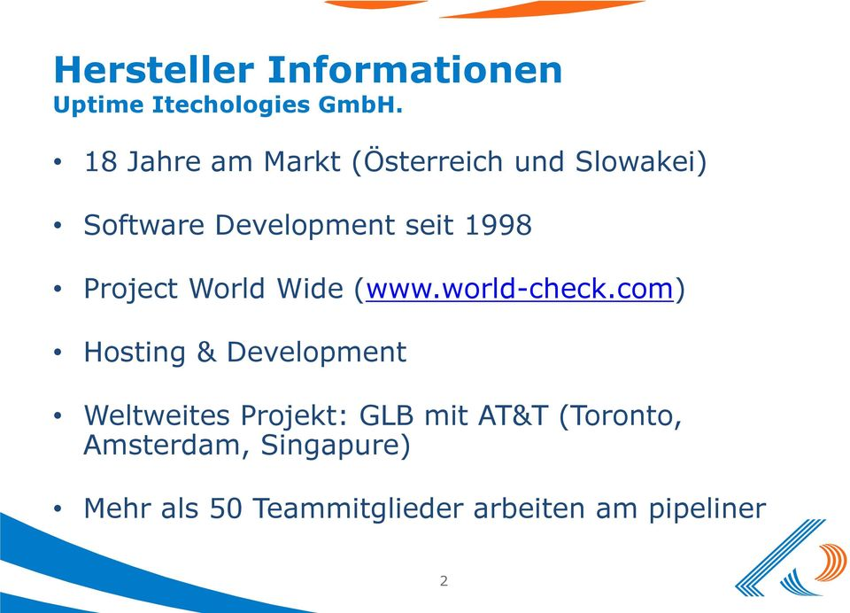 Project World Wide (www.world-check.