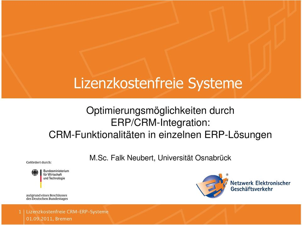 ERP/CRM-Integration: CRM-Funktionalitäten in