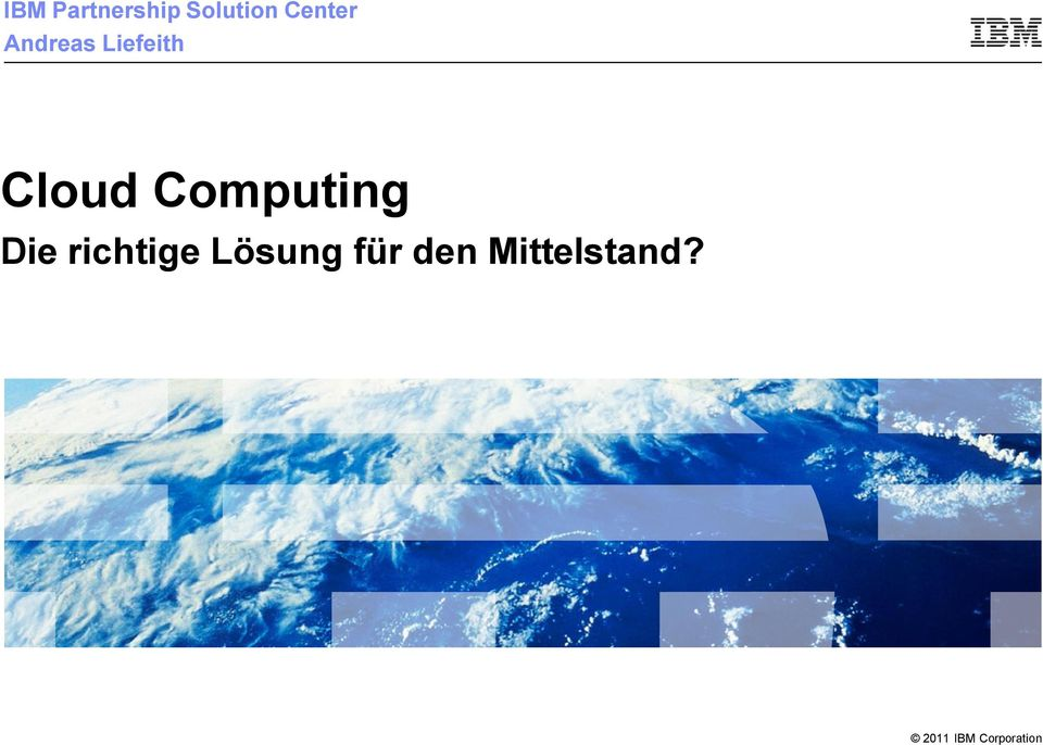 Cloud Computing Die